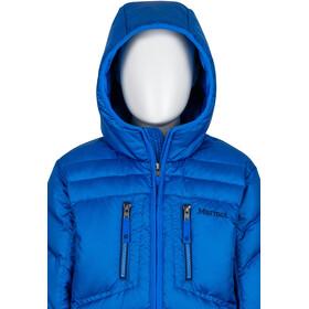 Marmot Hangtime Down Hoodie Jungs true blue